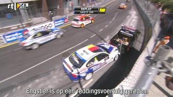 RTL GP: WTCC Engstler knalt op reddingsvoertuig