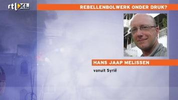 RTL Nieuws Journalist vanuit Syrisch rebellenbolwerk