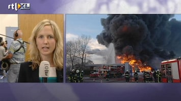 RTL Nieuws Blunders bij bestrijding Moerdijkbrand