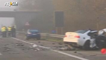 RTL Nieuws Zes doden door verkeersongeluk Duitsland