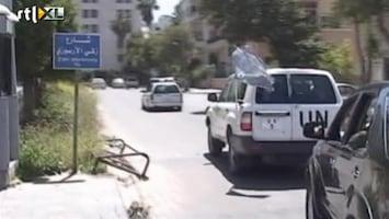 RTL Nieuws Geen protest op Syrische tv