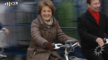 RTL Boulevard Margriet op de fiets