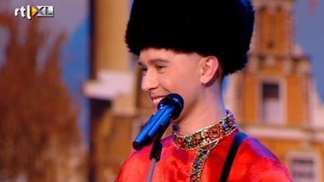 Holland's Got Talent Dimitri (zang)