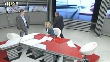 RTL Nieuws Vechten tijdens live-uitzending