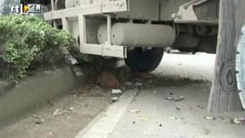 RTL Nieuws Meisje overleeft aanrijding met truck