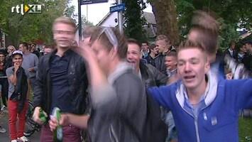 RTL Nieuws Haren op zijn kop door Facebook-feestje