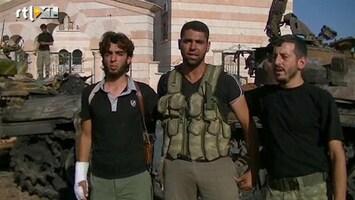RTL Nieuws Massale vluchtelingenstroom uit Syrische hoofdstad