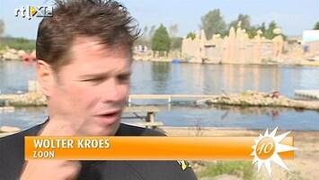 RTL Boulevard Wolter Kroes presenteert album onder water