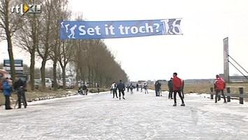RTL Nieuws Friesland schaatst kater weg