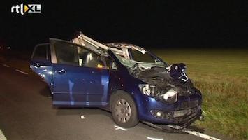 RTL Nieuws Automobiliste omgekomen na botsing met paard