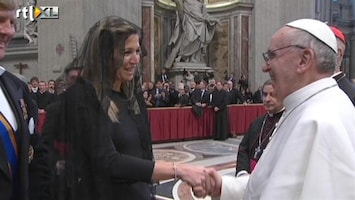 Editie NL Maxima bij de nieuwe paus