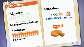 RTL Nieuws Woekerpolisslachtoffers door overheid in kou
