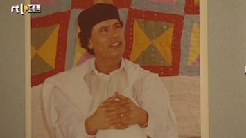 RTL Nieuws Khadaffi-souvenirs tentoongesteld