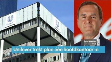 VEB: misrekening topman Unilever verhuisplannen