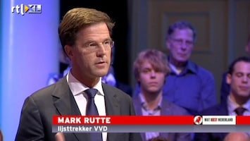 RTL Nieuws Mark Rutte over eigen fouten bij val kabinet