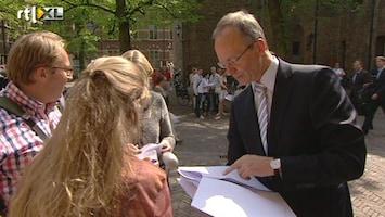 RTL Nieuws 'Zo min mogelijk uitkeringen buiten NL'