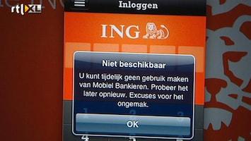 RTL Nieuws ING: Saldo's kloppen weer, storingvoorbij
