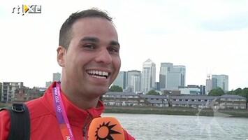 RTL Boulevard Yessin Rahmoudi met koninklijk paard op Spelen
