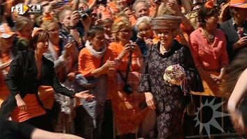 RTL Boulevard Koninginnedag met de Oranjes in Limburg