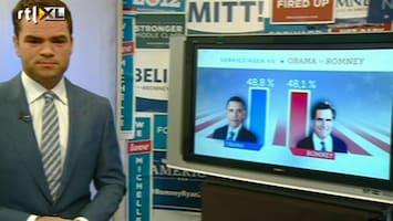 RTL Nieuws Hele kleine voorsprong voor Obama
