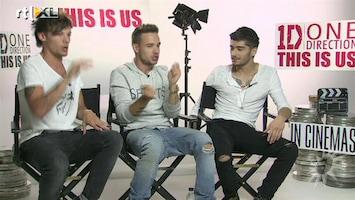 RTL Boulevard Boys One Direction over hun filmpremière