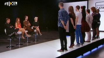 Project Catwalk (nl) De uitslag