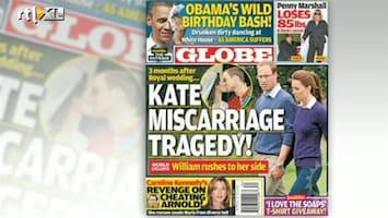 RTL Boulevard Miskraam voor Kate en William?