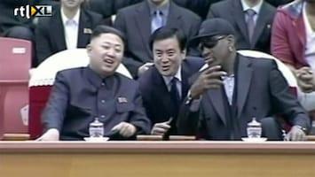 RTL Nieuws Rodman: Obama hoeft Kim Jong-un maar te bellen