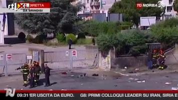 RTL Nieuws Ruwe beelden bomaanslag Italiaanse school