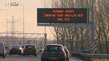 RTL Nieuws Vermist meisje terecht dankzij matrixborden