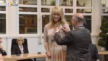 RTL Nieuws Linda de Mol krijgt lintje