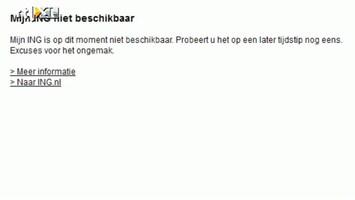 RTL Nieuws Internetbankieren ING ligt plat