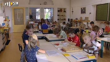 RTL Nieuws Basisschoolklassen steeds voller