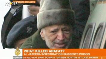 RTL Nieuws Yasser Arafat mogelijk vergiftigd
