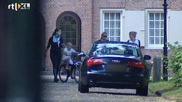 RTL Nieuws Mabel aangekomen bij Huis ten Bosch