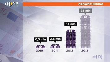 RTL Nieuws Crowdfunding groeit exponentieel