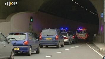 RTL Nieuws Weinig overlast door acties politie