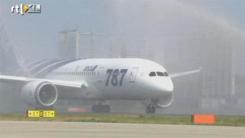 RTL Nieuws Eerste commerciële vlucht Dreamliner