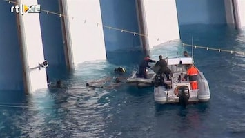 RTL Nieuws Kustwacht boos op kapitein Costa Concordia