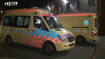 RTL Nieuws Twee gewonden bij brand in sportschool Goes