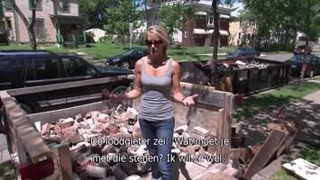 Verslaafd Aan Verbouwen Salvaged back yard