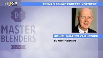 RTL Nieuws Vertrekkende topman DE krijgt miljoenen mee