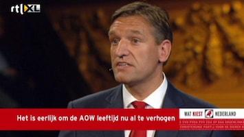 RTL Nieuws 'AOW-leeftijd niet verhogen, is Griekse methode'