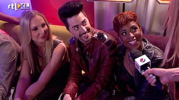X Factor Adlicious en Rochelle over Chew Fu