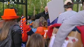 RTL Nieuws Vechten voor een plekje in Vondelpark