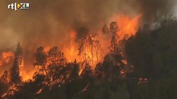 RTL Nieuws Duizenden huizen Californië door brand bedreigd
