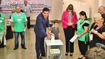 RTL Nieuws Georgiërs hopeloos verdeeld over president Saakasjvili