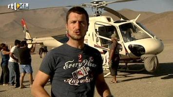 RTL GP: Dakar 2011 Labrie goes Dakar 28: in de heli