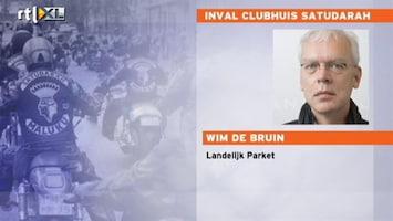 RTL Nieuws Militaire hulp bij inval clubhuis Satudarah