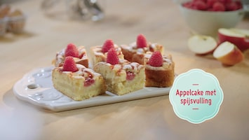 Bakken Doe Je Zo - Appelcake Met Spijsvulling